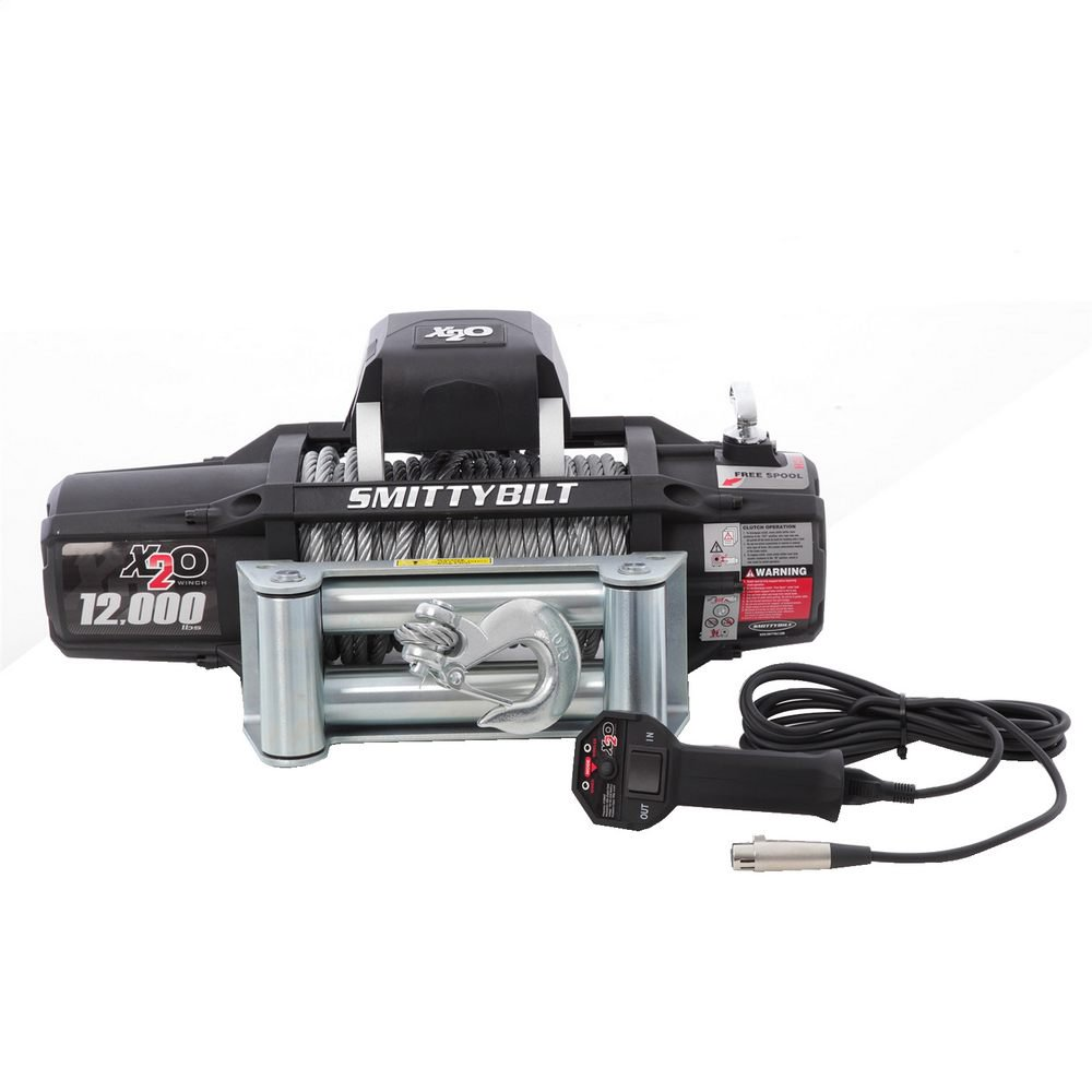 Smittybilt X2O 12K GEN2 12000lb Wireless Winch THUMBNAIL