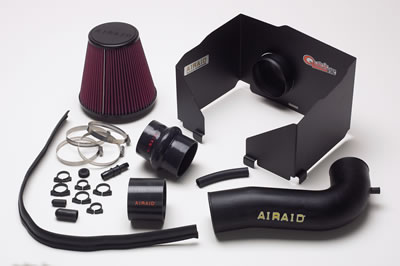 Fat Bob's Garage, Airaid Part #300-150, Dodge Ram 1500/2500/3500 5.7L/Hemi Airaid Air Intake, Black Tube, Red Filter