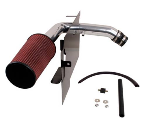 Fat Bob's Garage, Rugged Ridge, Part #17750.03, Air Intake Kit, Polished aluminum, Will Not Work W/ A/C MAIN