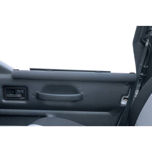 Fat Bob's Garage, Rugged Ridge, Part #11820.20, Jeep Wrangler Half Door Arm Rests Black 1987-2006_MAIN