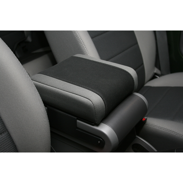 Fat Bob's Garage, Rugged Ridge, Part #13107.09, Jeep JK Wrangler Neoprene Arm Rest Cover, Black with Gray 2007-2010_MAIN