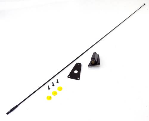 Fat Bob's Garage, OMIX-ADA Part #17214.02, Antenna Kit Black THUMBNAIL