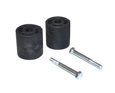 Fat Bob's Garage, Part # BSEZJF, Jeep Grand Cherokee ZJ Front Bump Stop Extenders 1993-1998 THUMBNAIL