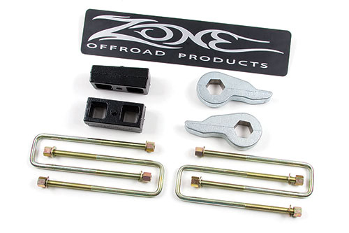 "Fat Bob's Garage, Zone Offroad Part #C1211, Chevrolet/GMC Suburban/Yukon XL 2"" Lift Kit 4WD 1992-1998"