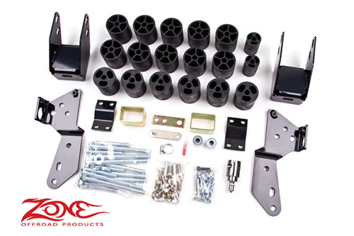 "Fat Bob's Garage, Zone Offroad Part #C9350, Chevrolet/GMC 1500 3"" Body Lift  2007-2009 MAIN"