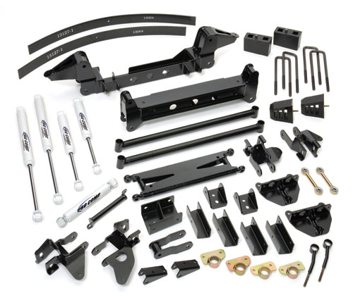 "Fat Bob's Garage, Pro Comp Part #K1051B, Chevrolet/GMC 1500HD/2500HD 6"" Suspension Lift Kit w/ ES Shocks 4WD 1999-2010"