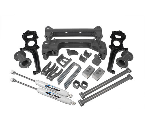 "Fat Bob's Garage, Pro Comp Part #K4137B, Ford Full Suspension 6"" Lift Kit 4WD 2004-2008_THUMBNAIL"