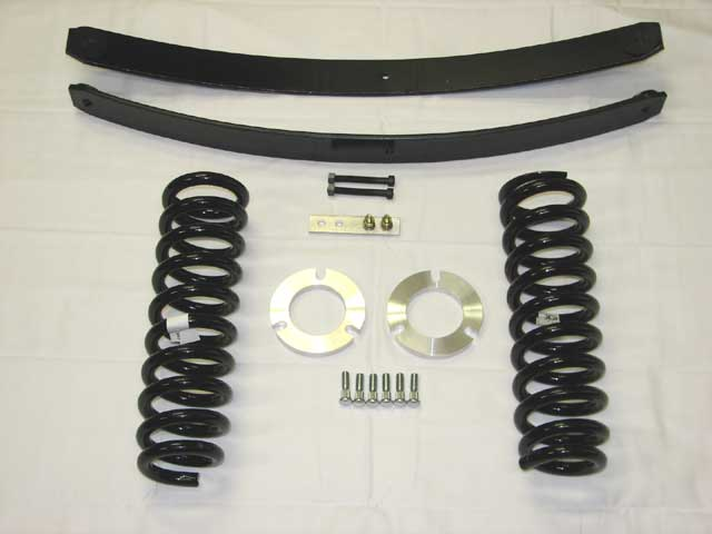 "Fat Bob's Garage, Part # OME3-AL, Toyota Tacoma 3"" Coil Lift Kit w/AAL 2WD/4WD 1995-2004 (6 Lug)_THUMBNAIL"