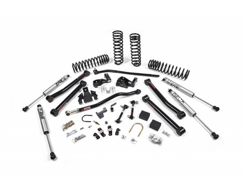 "JSPEC Jeep JK Wrangler 3.5"" J Konnect Suspension System 07-17 2-Door MAIN"