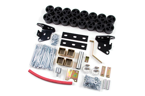 "Fat Bob's Garage, Zone Offroad Part #F9285, Ford F150 2WD/4WD 2"" Body Lift 1997-2003 MAIN"