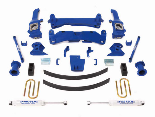 "Fat Bob's Garage, Fabtech Part #K7000, Toyota Tacoma 6"" Suspension Lift Kit Prerunner 4WD/2WD (6-lug)"