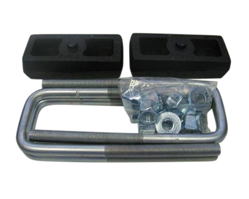 "Fat Bob's Garage, Part # FBB1.5-50, Chevrolet/GMC 1500/2500/3500 1.5"" Block & U-Bolt Lift Kit 4WD/2WD 2000-2010"