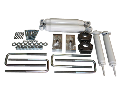 "Toyota IFS Pickup 2.5"" Front 1.5"" Rear Lift Kit w/Shocks 4WD 1985-1995 MAIN"