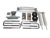 "Toyota IFS Pickup 2.5"" Front 1.5"" Rear Lift Kit w/Shocks 4WD 1985-1995 SWATCH"