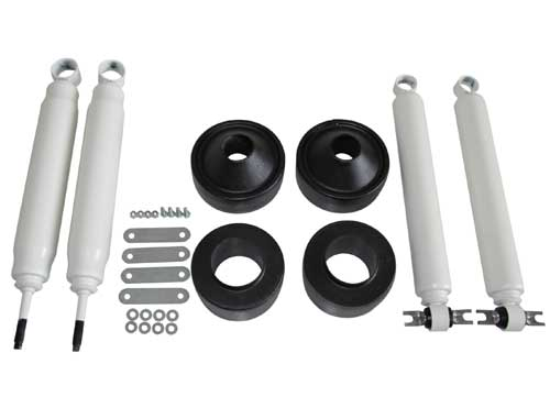 "Jeep Wrangler JK 2.5"" Suspension Lift Kit w/ Shocks 2007-2017 LARGE"