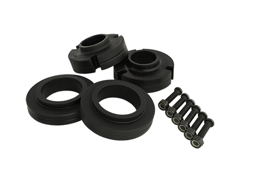 "Fat Bob's Garage, Part # 40250, Toyota 2.5"" Poly Spacer Lift Leveling Kit 1996-2016 (6-lug) MAIN"