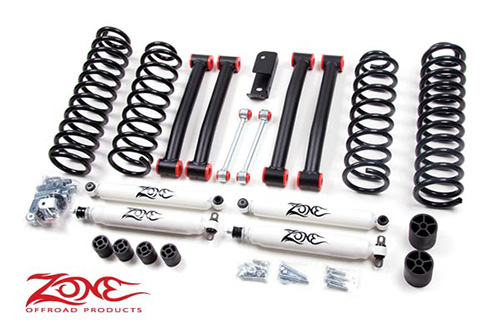 "Fat Bob's Garage, Zone Offroad Part #J16, Jeep Grand Cherokee ZJ 4"" Suspension System 1993-1998"