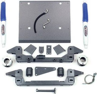 "Fat Bob's Garage, Pro Comp Part #K5050B, Toyota Tacoma 4WD/ 2WD Pre Runner 6 Lug 1996-2004 4"" Lift Kit"