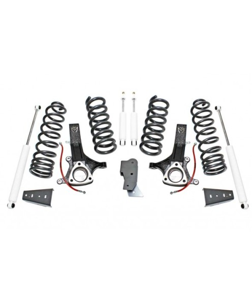 "Fat Bob's Garage, MaxTrac part #K882470, Dodge Ram 1500 7"" Lift Kit, MaxTrac Shocks 4.7L V8 2WD 2009-2015 MAIN"
