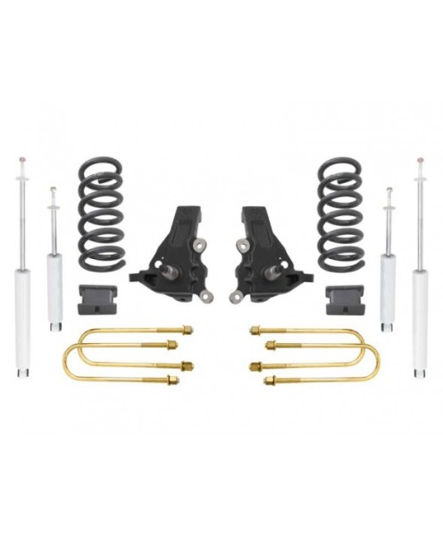 "Fat Bob's Garage, MaxTrac part #K883553, Ford F150 Heritage 5.5"" Lift Kit 2WD 1997-2004 MAIN"