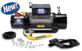 Fat Bob's Garage, Superwinch Part #1585200, LP8500 8,500 lb. Winch