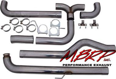 Fat Bob's Garage, MBRP Part #S8000409, Chevrolet/GMC Duramax SMOKERS Truck Stack System 2001-2006