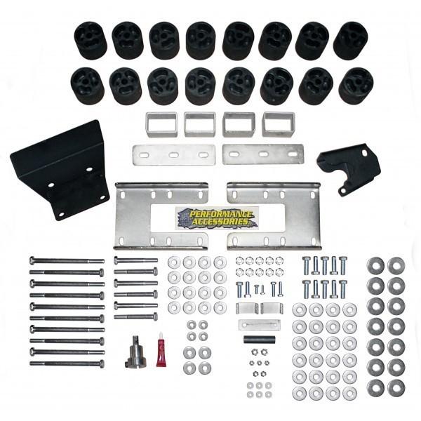 "Dodge 1500 3"" Body Lift Kit 2009-2012 THUMBNAIL"