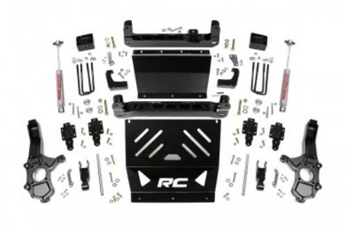 "Fat Bob's Garage, Rough Country part #221.20, Chevrolet/GMC Colorado/Canyon 4"" Suspension Lift Kit 4WD 2015-2016 LARGE"