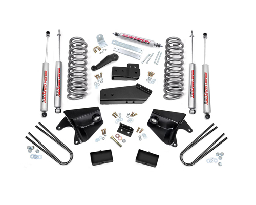 "Fat Bob's Garage, Rough Country Part #467.2, Ford F150 2WD 1980-1996 4"" Lift Kit MAIN"