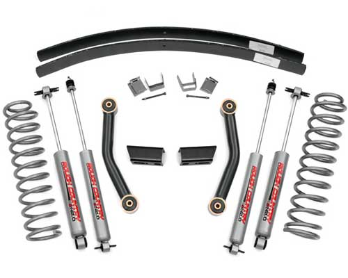 "Jeep XJ Cherokee 3"" Series II Lift Kit 1984-2001 LARGE"