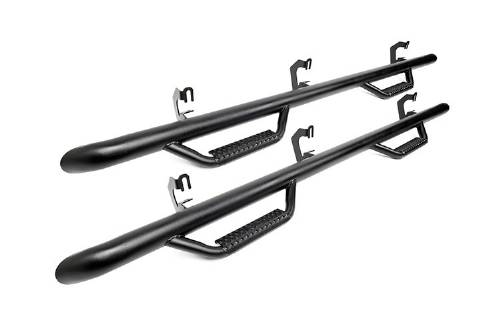 Fat Bob's Garage, Rough Country part #RCF9984CC, Ford F250/F350/F450/F550 Cab Length Nerf Steps 2WD/4WD 1999-2015 LARGE