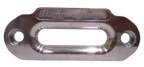 "Fat Bob's Garage, Rugged Ridge, Part #11238.01, Aluminum Hawse Fairlead, CNC Machined, 10"", Universal Application THUMBNAIL"