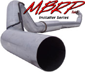 "Fat Bob's Garage, MBRP Part #S6116AL, Dodge Ram 2500/3500  5"" Turbo Back Cummins 600/610 2004-2007"