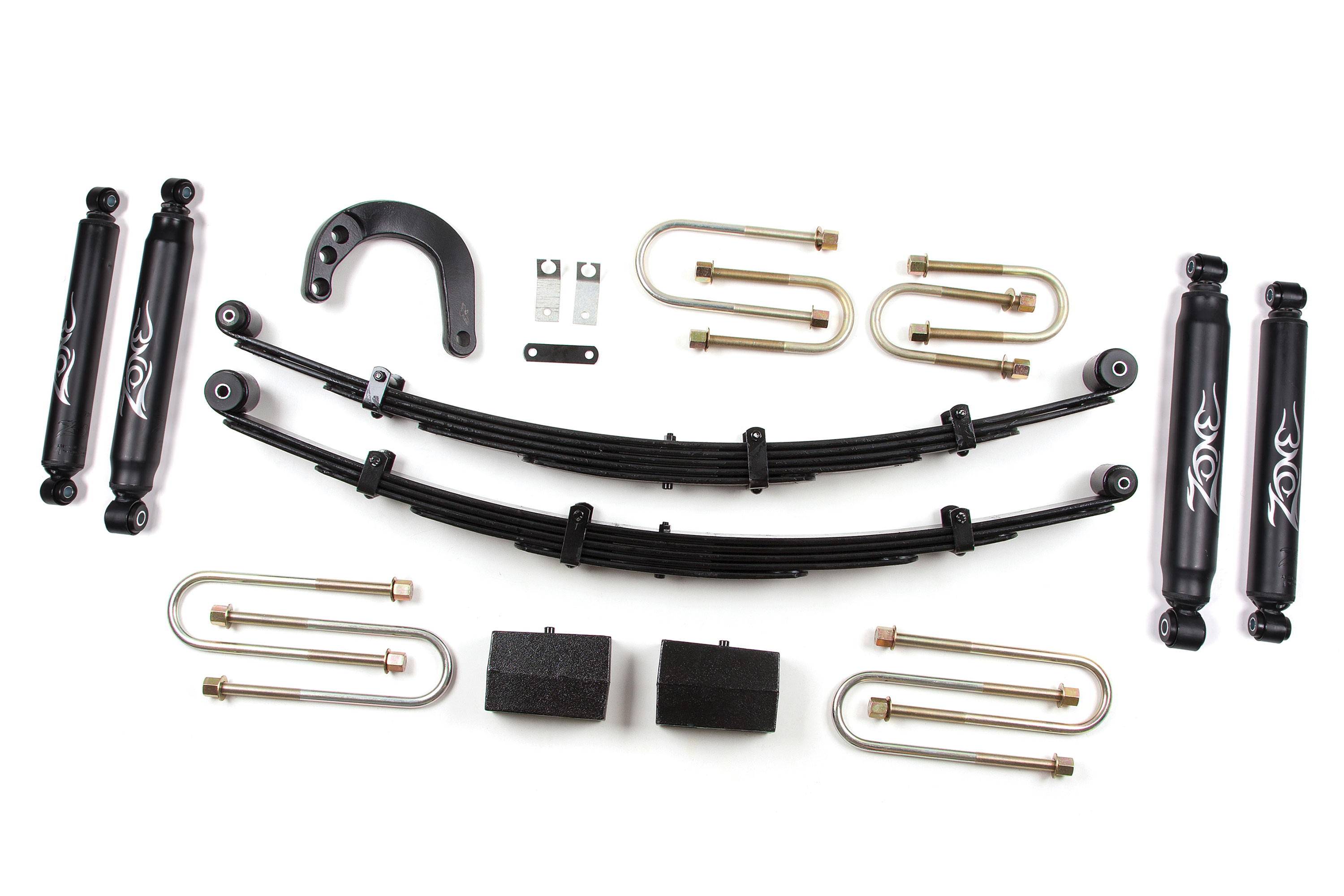 "Fat Bob's Garage, Zone Offroad Part #C10, Chevrolet/GMC 1500 4"" Suspension Lift System 1977-1987 MAIN"