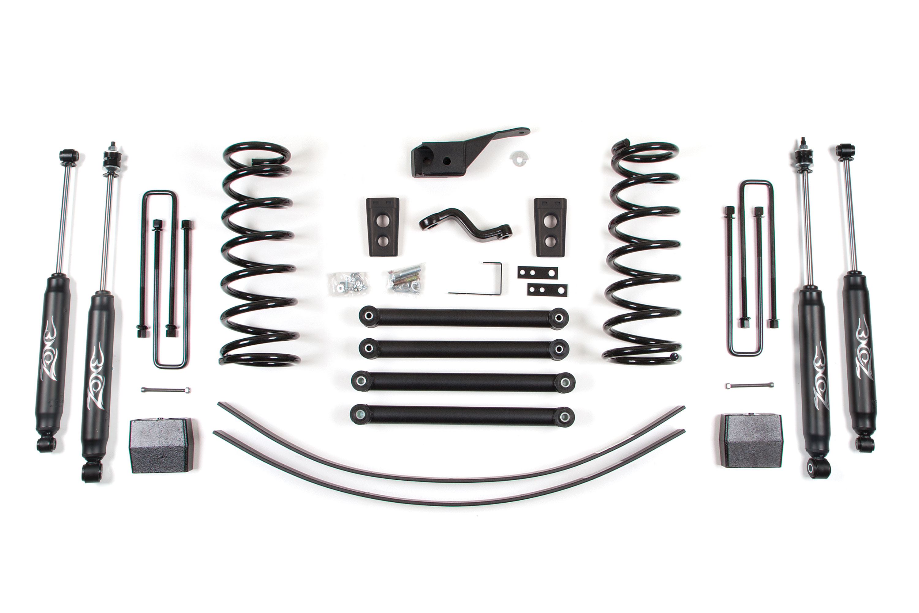 "Fat Bob's Garage, Zone Offroad Part #D46, Dodge Ram 2500 5"" Suspension System 4WD 1994-2002 THUMBNAIL"