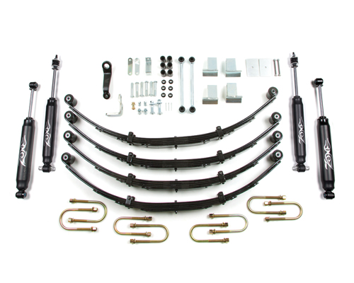 "Jeep YJ Wrangler 4"" Suspension Lift 4WD 1987-1995 MAIN"