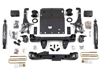 "Fat Bob's Garage, Zone Offroad Part #T3, Toyota Tacoma 6"" Suspension Lift Kit 2005-2015 4WD THUMBNAIL"