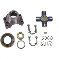 Fat Bob's Garage, Alloy USA Part #380003, Yoke Kit, Includes Spicer U-Joint and U-Bolts,  AMC 20 THUMBNAIL