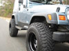 "Jeep Wrangler TJ/Grand Cherokee ZJ 1"" Poly Spacer Lift Kit 1993-2006_SWATCH"