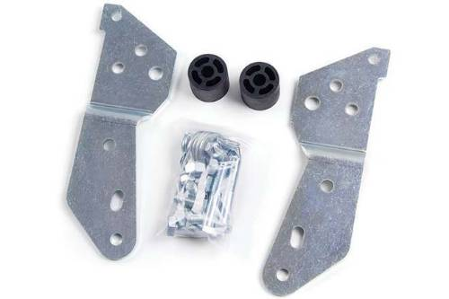 Fat Bob's Garage, Zone Part #C9909, Chevrolet/GMC Silverado/Sierra 1500 Rear Bumper Bracket Relocation Kit 2007-2013