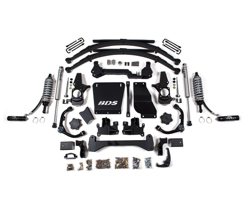 "Chevrolet/GMC 2500HD/3500HD 7"" Coilover Suspension Lift Kit 4WD 2001-2010 MAIN"