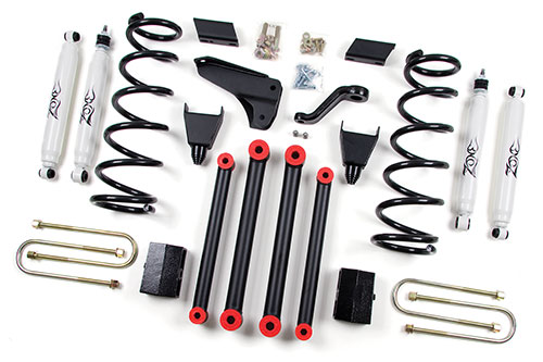 "Fat Bob's Garage, Zone Offroad Part #D16, Dodge Ram 2500/3500 5"" Suspension System 4WD 2010-2013 MAIN"