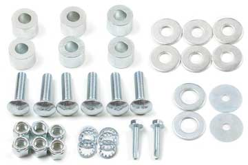 Fat Bob's Garage, Zone Offroad part #D5801, Dodge Ram 2500/3500 Front Bumper Spacer Kit 2003-2013 MAIN
