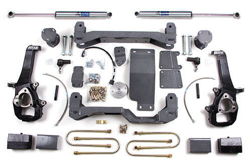 "Fat Bob's Garage, BDS Part #625H, Dodge Ram 1500 4"" Suspension System 2006-2008 MAIN"
