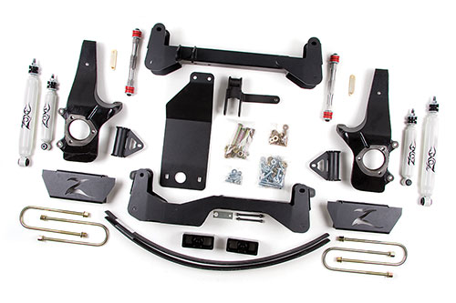 "Fat Bob's Garage, Zone Offroad, Ford F150 6"" IFS System 1997-2003 LARGE"