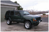 "Jeep Cherokee XJ 1.5"" Front Lift Kit w/1.5""-2"" Adjustable Rear Shackles 1984-2001 Mini-Thumbnail"