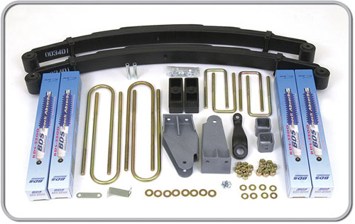 "Fat Bob's Garage, BDS Part #306H, Ford F250 4"" Front 3"" Rear Suspension System 4WD 1980-1996"