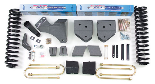 "Fat Bob's Garage, BDS Part #558H, Ford F250/F350 Super Duty 6"" Front 5"" Rear 4WD 2008-2010"