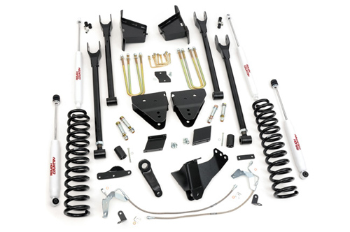 "Ford F250 Super Duty 6"" 4 Link Suspension Lift 4WD 2011-2014_MAIN"