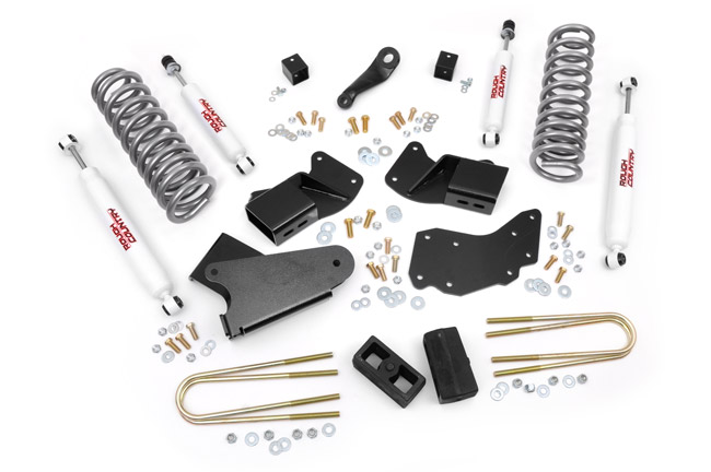 "Fat Bob's Garage, Rough Country Part #430.2, Ford Ranger/Bronco 4"" Suspension Lift Kit 4WD 1983-1997 LARGE"